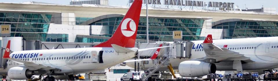 Istanbulin lentokenttähotellit