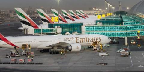 Dubain lentokenttähotellit