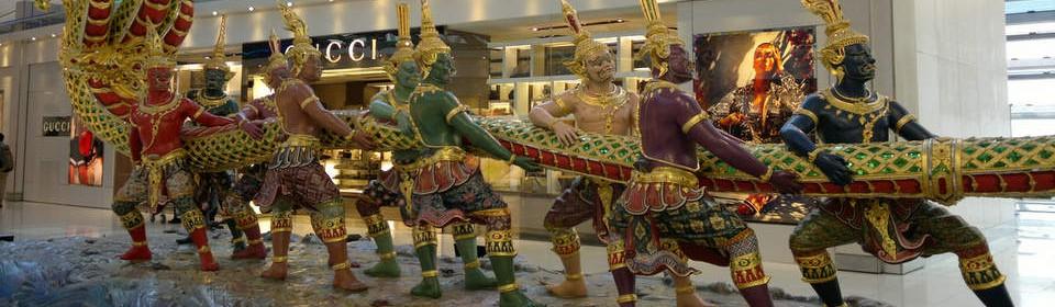 Bangkokin lentokenttähotellit