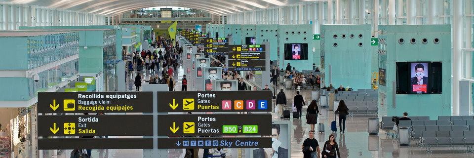 Barcelonan lentokenttähotellit