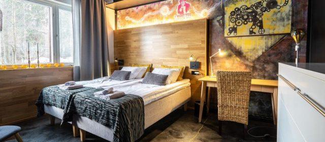 Jyväskylään uusi design-hostelli – Time Hostelin erikoisuus tarinalliset seinämaalaukset