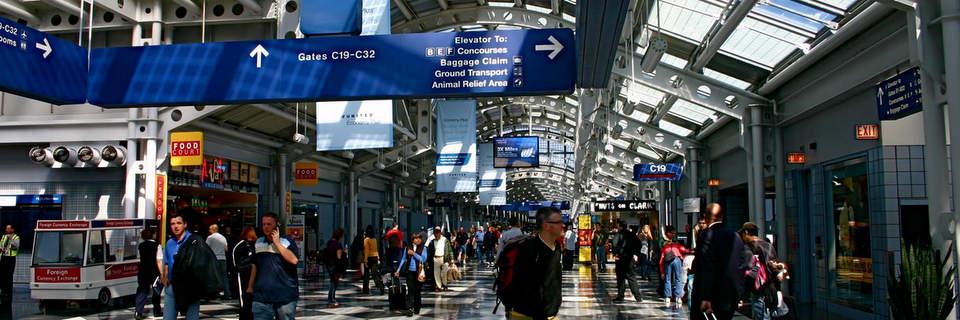 Chicago O'Haren lentokenttähotellit